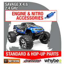 HPI SAVAGE X 4.6 2.4GHz [All Engine Parts] Genuine HPi Racing R/C Parts!