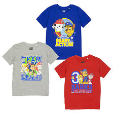 Paw Patrol T Shirts for Boys | Chase Rubble and Marshall Tops for Kids