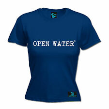 Open Water White Brand Logo WOMENS T-SHIRT Gear Dive Diving Funny birthday gift