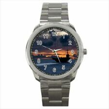 Aircraft Carrier Stainless Steel Watches