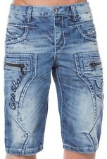 CIPO & BAXX COTTON SHORTS - CK101 DENIM SHORTS ALL SIZES