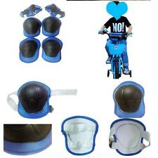 Kids Teens Elbow Knee Wrist Protective Guard Safety Gear Pads skate Bicycle Boy