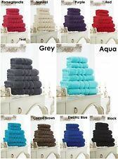 Egyptian Cotton Towels Set Bath Sheet Hand Large Bale 600 GSM Bathroom 6 Pcs Set