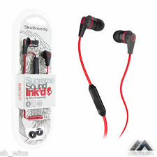 Skullcandy Ink'd in-ear Earphone with Mic Headphone Mfg Sealed Pack Bill Waranty