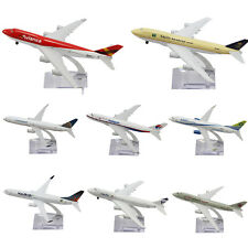 New 16CM Metal Plane Model Aircraft Diecast Airlines Aeroplane Desk Toy Gift
