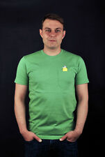 CLEPTOMANICX T-SHIRT TINY ZITRONE MINERAL GREEN SHIRT