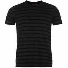 T-shirt LEE COOPER Yarn Dye Col V NEUF / TShirt V-Neck Striped Mens NEW
