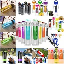 Water Bottle Flip Straw Sports Drinks Fitness Hydration Hiking Cycling BPA FREE