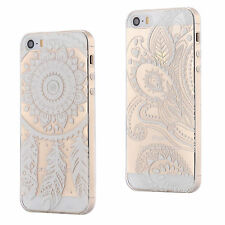 SLIM CLEAR CUSTODIA CASE TPU SILICONE COVER TRASPARENTE DREAMCATCHER APPLE