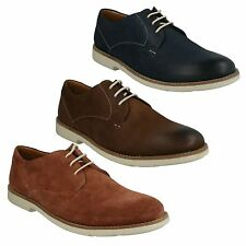 SALE RASPIN PLAN MENS CLARKS SUEDE NUBUCK CASUAL LACE UP LIGHTWEIGHT SHOES