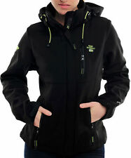 Chaqueta Geographical Norway Mujer negro Softshell chaqueta Impermeable Anapurna