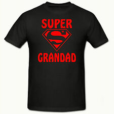 Super Grandad Men's T-Shirt,SM-3XL,Tee Shirt,Grandad Gift, Fathers Day,Superhero