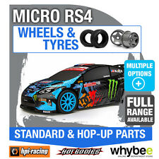HPI MICRO RS4 [Wheels & Tyres] Genuine HPi 1/18 R/C Standard / Hop-Up Parts