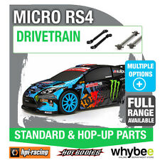 HPI MICRO RS4 [Drivetrain Parts] Genuine HPi Racing R/C Standard / Hop-Up Parts!