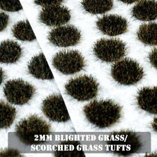 Small 2mm Static Grass Tufts Self Adhesive 28mm Seven Years War Wargames Basing