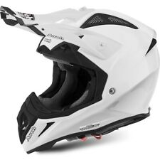 Airoh Aviator 2.2 Color white MX MTB Enduro Offroad Helm in weiss