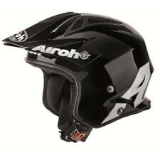 Airoh TRR Steel Trialhelm Schwarz Trial Helm MTB Downhill Enduro Trail DH Quad