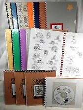 Nippert & Co. Artworks ClipArt - Choice of 18 Booklets w/ CD - Black/White/Color