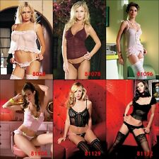 Leg Avenue Sexy Camisole, Cami Sets and Cami-Babydoll Sets