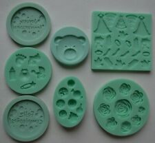 SWEETLY DOES IT ROSES SILICONE FONDANT MOULD BY KITCHEN CRAFT