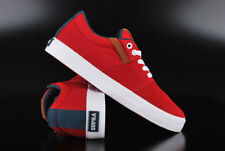 SUPRA STACKS VULC II RED NAVY WHITE SNEAKER LOW SKATERSCHUHE