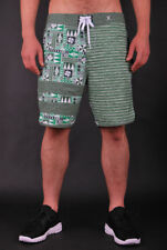 HURLEY PHANTOM BLOCK PARTY O'HURLEY 19' GREEN BOARD SHORT BADEHOSE