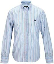 Camicia Uomo Maniche Lunghe Fred Perry Collo B.D. Slim Fit Shirt Long Sleeves 30