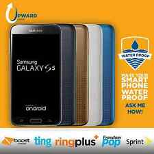 Samsung Galaxy S5 (16GB, 32GB) Sprint Ting Boost RingPlus FreedomPop Free Extras