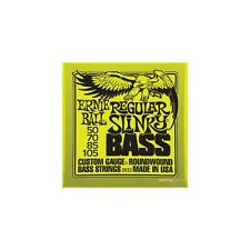 Ernie Ball Nickel Wound Slinky Bass Guitar Strings 4-String & 5-String