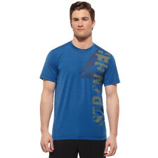 Reebok Men's Thermoactive T-shirt Sports Tee Running Gym Workout
