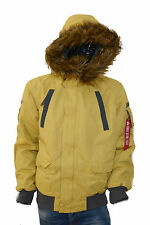 ALPHA INDUSTRIES - Jacke/Herrenjacken/Winterjacken - MOUNTAIN JACKET - yellow