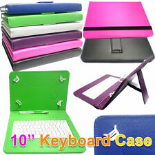 "10.1"" inch PU Leather Keyboard Case For Motorola Xoom 32GB Wifi Android Tablet"