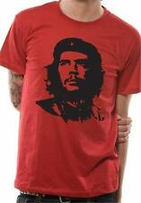 OFFICIAL LICENSED - CHE GUEVARA - RED FACE T SHIRT CUBA REVOLUTION COMMUNIST