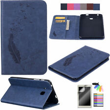 For Apple iPad Air Mini Pro 9.7 Samsung Tablet Case PU Leather Wallet Flip Cover