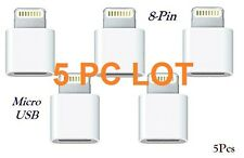 ✔Convertor Micro USB to 8 pin Lightning Charger Adapter Apple iPhone iPad✔