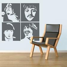 Beatles - Wall Decal Art Sticker lounge living room bedroom