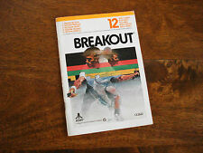ATARI 2600 BREAKOUT - GAME INSTRUCTIONS - Atari