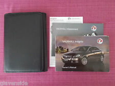 VAUXHALL INSIGNIA OWNERS MANUAL - OWNERS GUIDE - HANDBOOK PACK (YJL 1050)