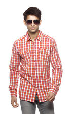 Branded Surplus Orange Shirt For Men -  Export Surplus FLY-53
