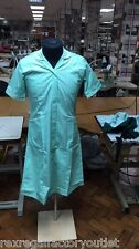 New Ladies Green Healthcare Dress, Health Care Dental Care Medical Wear 1938