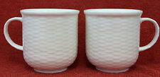 WEDGWOOD ~ NANTUCKET DESIGN ~ BEVERAGE MUGS X 2 (TEA / COFFEE MUGS)
