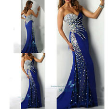 Sexy Brillient Mermaid Long Party Evening Dress Cocktail Prom Pageant Ball Gowns