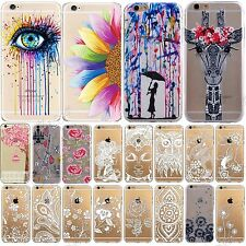 Fashion Design Ultra Sottile TPU trasparente Custodia Morbida per iPhone 6S,