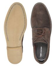Branded Brown Suede Leather Shoes For Men ( TH )