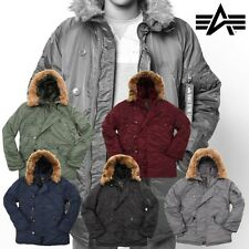 Alpha Industries Herren Jacke Jacket N3B MA1 Parka Winter Daunenjacke S bis 5XL