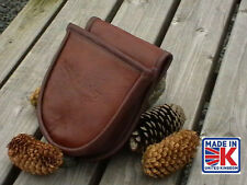 LEATHER SHOOTING CARTRIDGE BAG POUCH CLAY PIGEON SKEET HUNTING SHOOTING SHOOTERS