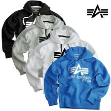 Alpha Industries Herren Pullover Hoody Big A Classic Men Sweater Hoodie Kapuze