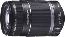 Canon EF-S 55-250 mm f/4-5.6 IS Telephoto Zoom Lens (EOS)