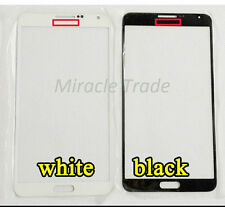 Replacement Front Outer Glass For Samsung Galaxy Note 3 Mobile Black / White