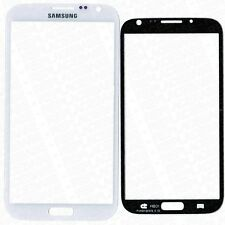 Replacement Front Outer Glass For Samsung Galaxy Note 2 Black / White